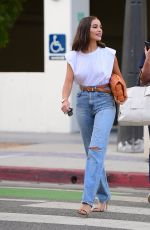 Olivia Culpo Out for dinner in Santa Monica