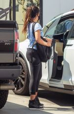 Olivia Munn Leaving gym after a workout in Los Angeles