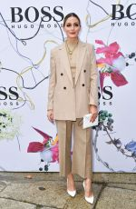 Olivia Palermo Attends the Boss fashion show during the Milan Women