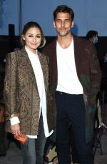 Olivia Palermo Seen arriving at the Etro fashion show during the Milan Women