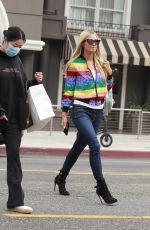 Paris Hilton Spotted Out Shopping in Beverly Hills