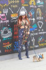 Phoebe Price Dons colorful Louis Vuitton ensemble in Los Angeles