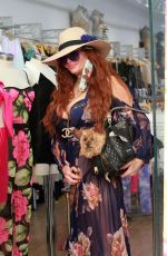 Phoebe Price Seen while out doing some shopping on Melrose in Los Angeles