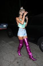Pia Mia Leaving a party in Hollywood