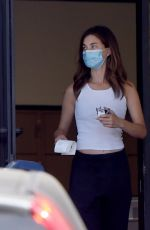 Rainey Qualley At a Post Office in LA