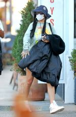 Rihanna Pictured out and about in Los Angeles
