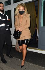 Rita Ora On a night out at the Broadway Muswell Hill in London