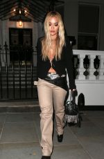 Rita Ora Seen out & about in London