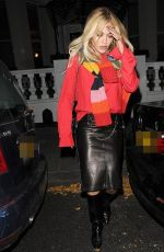 Rita Ora Spotted out in London