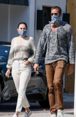 Rumer Willis & Armie Hammer Out in Los Angeles