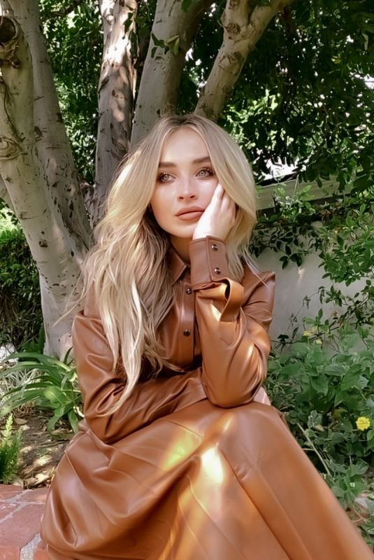 Sabrina Carpenter - CFDA Awards promo pics - September 2020
