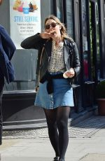 Saoirse Ronan Out and about in London