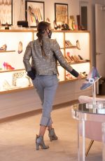 Sarah Jessica Parker Visits SJP Collection Shoe Store, South Street Seaport in New York