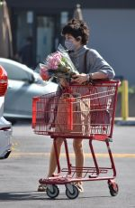 Selma Blair Steps out for groceries in chic sweater dress in Studio City