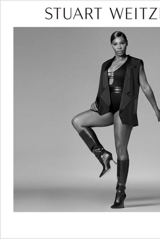 Serena Williams - Stuart Weitzman Campagne Fall 2020
