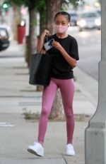 Skai Jackson Arriving for practice at the DWTS studio in Los Angeles