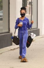 Skai Jackson Heads into the DWTS studios in Los Angeles
