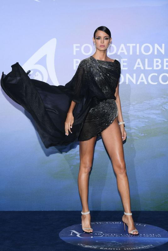 Sofia Resing At Monte-Carlo Gala For Planetary Health in Monte-Carlo
