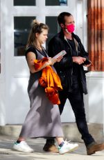 Sophie Cookson Out and about in Hampstead, London