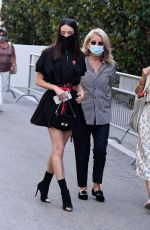 Stacy Martin Arrives at the Excelsior during the 77th Venice Film Festival