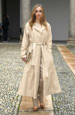 Suki Waterhouse Arriving at the Boss fashion show during the Milan Women