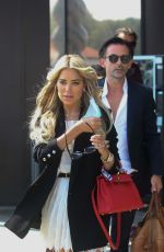 Sylvie Meis and Niclas Castello enjoying a pre-wedding party in Italy