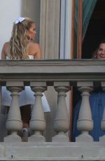 Sylvie Meis In Florence on a Photoshoot