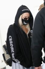 Tana Mongeau Arriving into LAX in Los Angeles