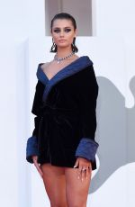 Taylor Hill Attends the premiere of Amants during the 77th Venice Film Festival
