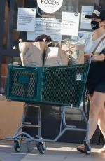 Tiffany Thiessen Shopping at Whole Foods in LA