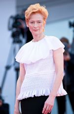 Tilda Swinton At Lacci Premiere and Opening Ceremony at the 77th Venice Film Festival 2020
