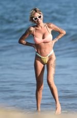 Tina Louise On a beach date near Los Angeles