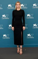 Vanessa Kirby At photocall for Pieces of a woman at the 77th Venice Film Festival