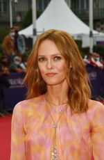Vanessa Paradis At Opening ceremony at 46th Deauville American Film Festival in France