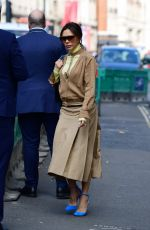 Victoria Beckham Looking stylish leaving Wolsley Restaurant in Central London