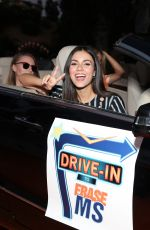 Victoria Justice Attends the 27th Annual Race to erase MS: Drive-In at Rose Bowl in Pasadena