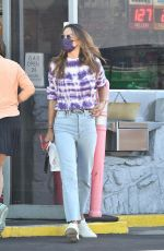 Alessandra Ambrosio Makes a quick stop at a gas station in Brentwood