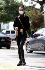 Alessandra Ambrosio Making a trip to a new gym in Beverly Hills