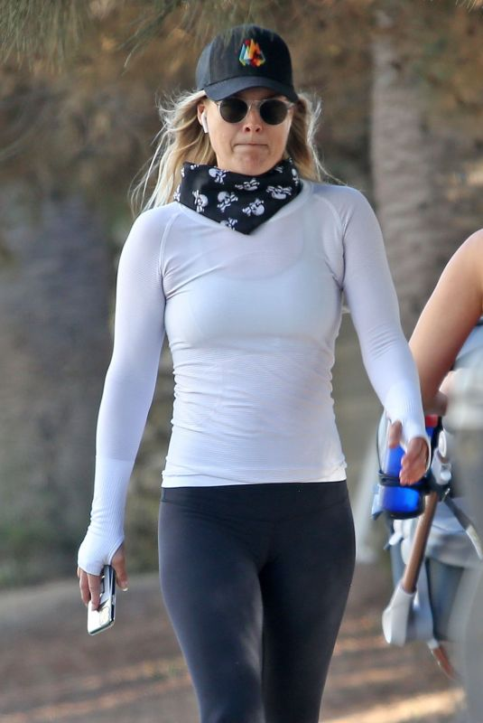 Ali Larter Hiking in Santa Monica