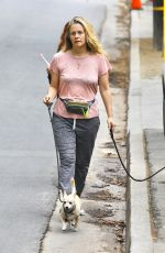 Alicia Silverstone Walking her dogs in the Hollywood Hills