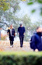 Alicia Vikander Enjoys a peaceful walk in Stockholm