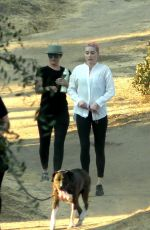Amber Heard Out on a hike in Los Angeles