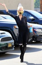 Anne Heche Seen at the dance studio in Los Angeles
