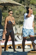 Arabella Chi Looks sensational showing off her sultry physique in Ibiza
