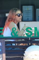 Ashley Benson Out at lunch in Los Angeles