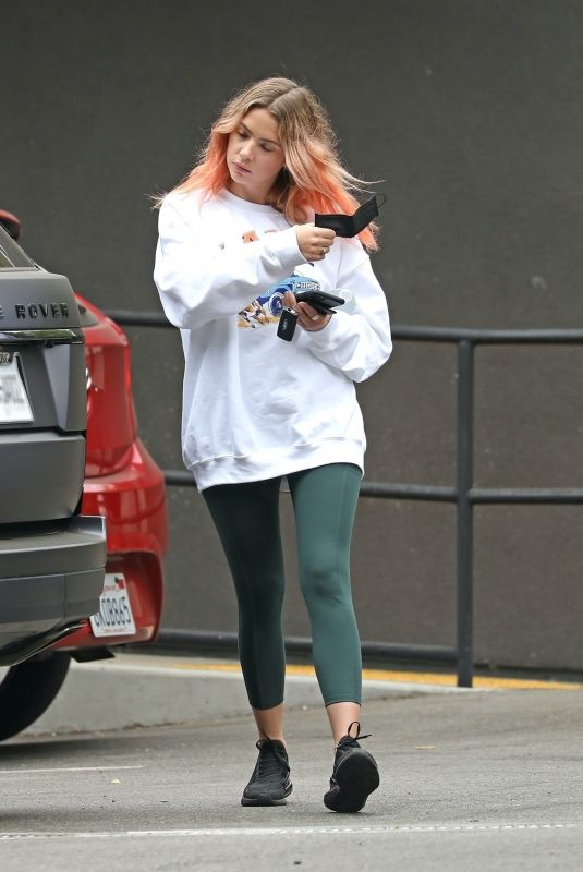 Ashley Benson Out grabbing coffee in Los Angeles