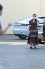 Ashley Tisdale At a studio in LA