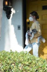 Ashley Tisdale Leaving her home in LA