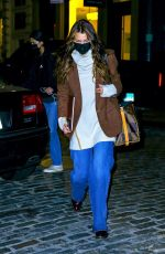 Bella Hadid Arrives at her apartment in the Big Apple, New York