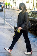 Bella Hadid Arriving back home in New York